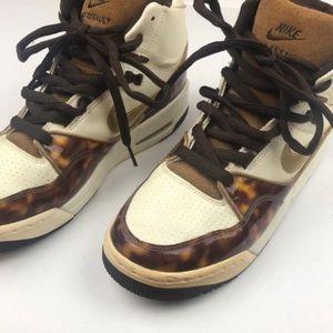 Nike l Tortoise Air Assault High Top Sneaker